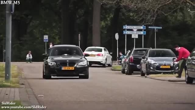 BMW M5 E60 vs Audi RS6 Avant C6.mp4