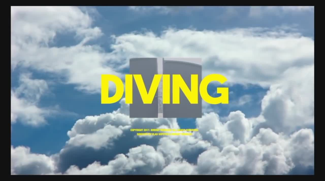 Bridgit Mendler - Diving feat. RKCB [Official Music Video].mp4