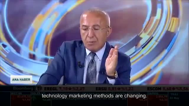 Cem Geyik Regional General Manager of RCIS and QNET Turkey is on Bloomberg HT