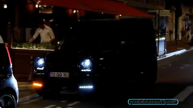 GIRL Driving a HUGE Mercedes-Benz G850 Brabus.mp4
