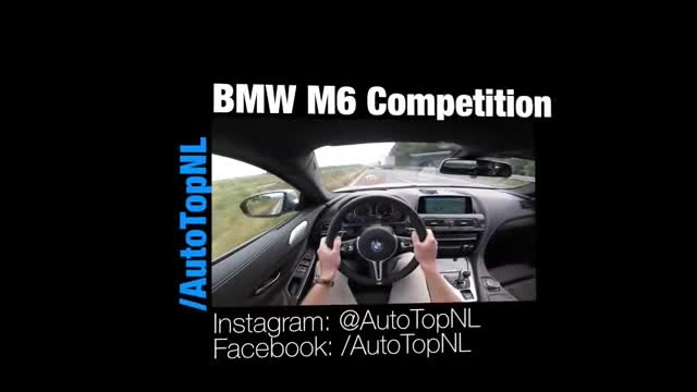 BMW M6 - TOP SPEED 313.mp4