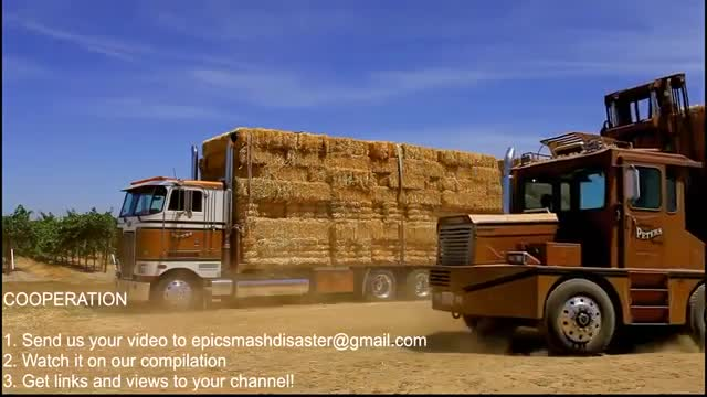 World Amazing Hay Bale Handling Technology Modern.mp4